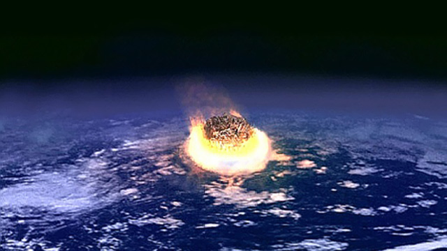 Dinosaur-killing impact set the world on fire