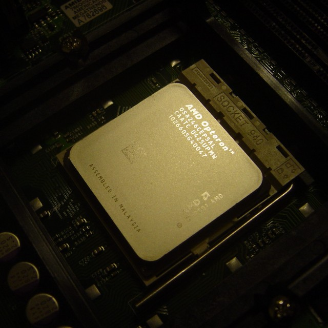 The Opteron CPU, and the K8 architecture upon which it was based, helped AMD break into some new and lucrative markets.