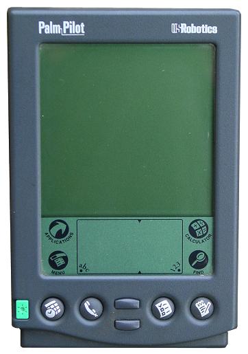 Pilot Palm pertama.