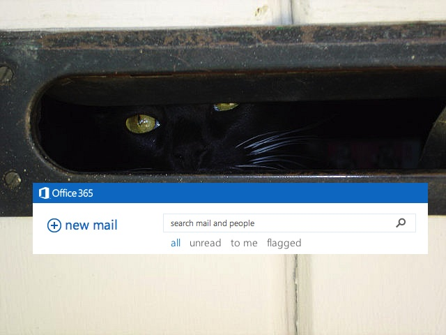 I'm in ur email, watching ur filez.