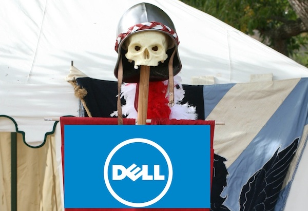 The battle is joined as Carl Icahn and the Blackstone Group move to block Michael Dell's move to take Dell private.