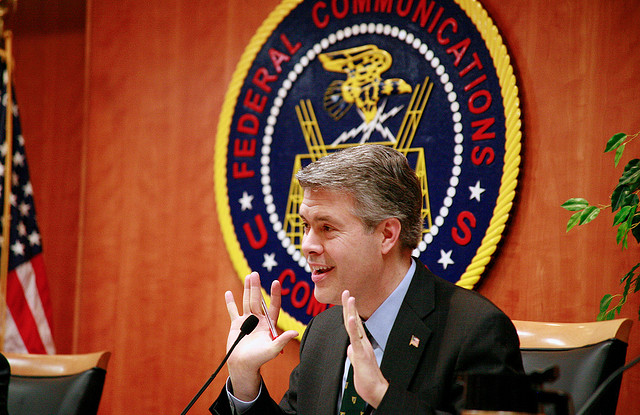 FCC Commissioner Robert McDowell, who is leaving his post.
