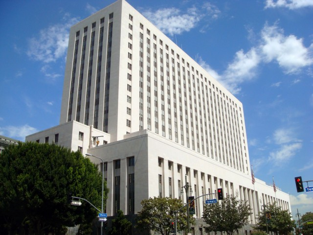 The US Federal Courthouse in Los Angeles