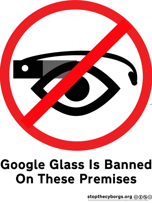 Stop the Cyborgs' anti-Glass logo.