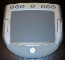 Perangkat input tablet multitouch bernama HandGear.