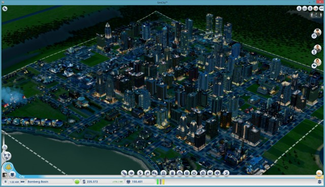 Some cities never sleep. <em>SimCity</em> cities snore loudly.