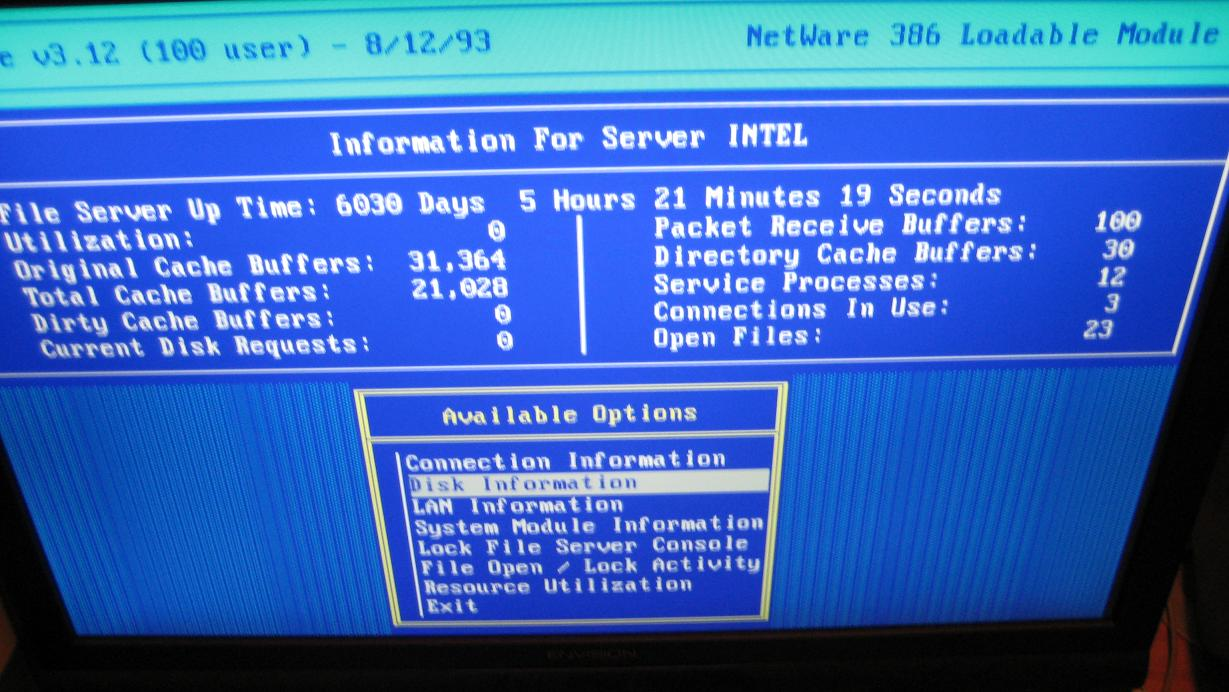 Epic uptime achievement unlocked. Can you beat 16 years?