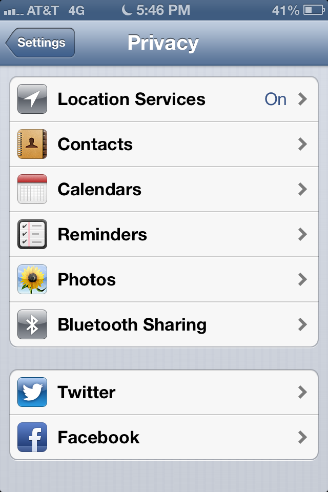 turn off location on iphone five features we wish android would borrow from ios ars 18109