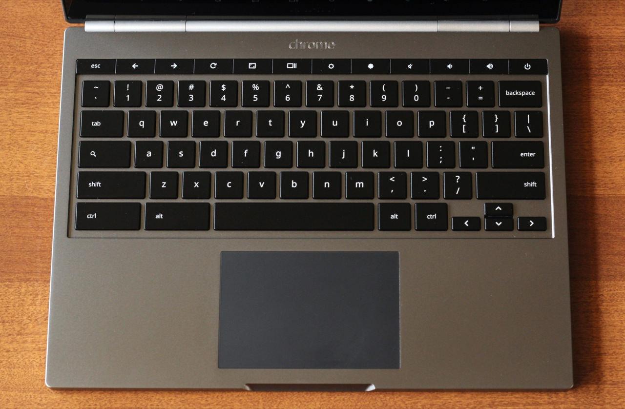 The Pixel's keyboard and trackpad look, work, and feel great.