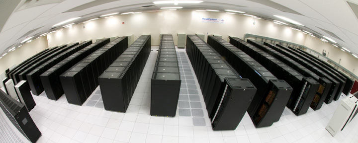 Lots and lots of server racks.