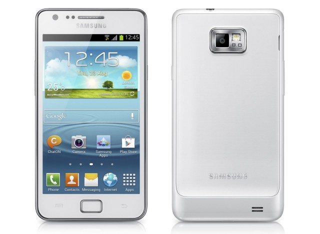 The Samsung Galaxy S II, the company's first real smash hit.