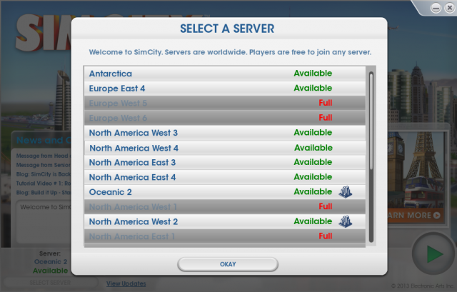 EA: SimCity server response time has improved 40-fold since launch