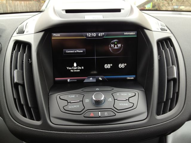 The Home Screen For Myford Touch Sync Want A Feature Just Text