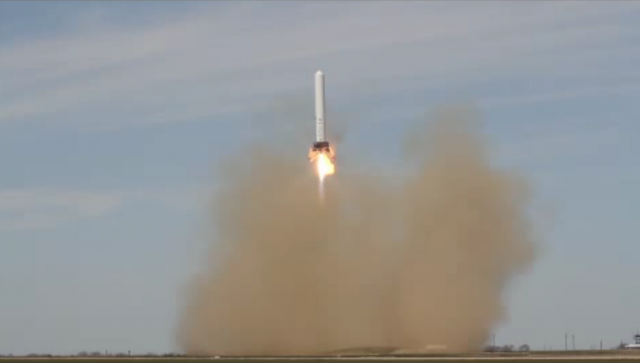 SpaceX's reusable rocket completes short, controlled flight