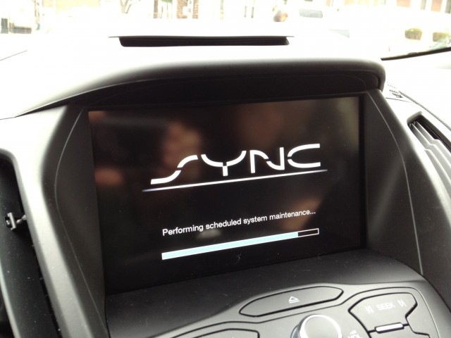 "MyFord Touch and Sync performing surprise ""scheduled system maintenance."""