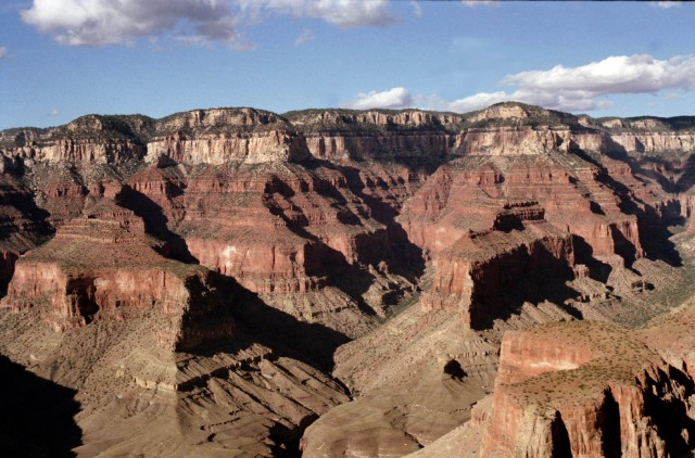 Is the Grand Canyon showing its age?