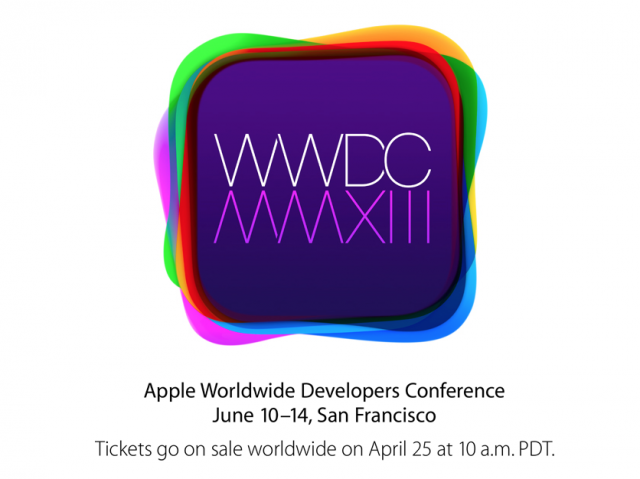 Apple mixes things up for WWDC 2013, with pre-announced ticket sales