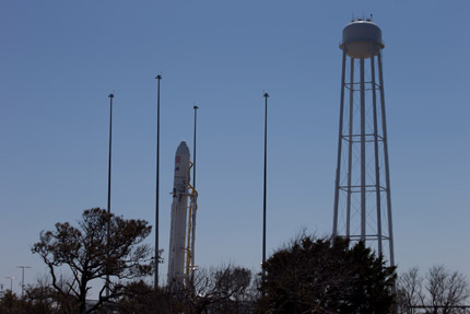 The new Antares rocket will be test-launched from NASA Wallops this week.