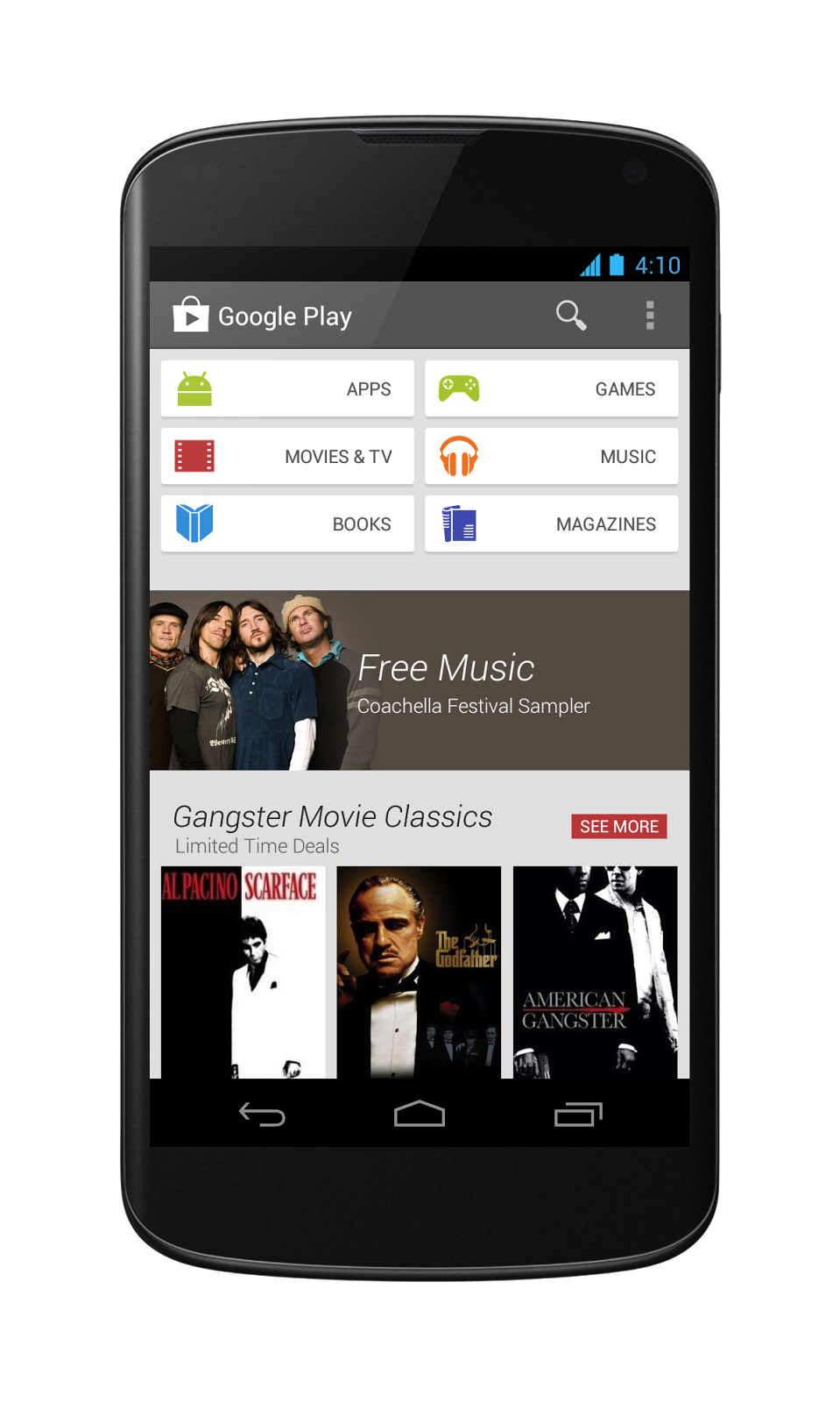 The new Google Play Store.