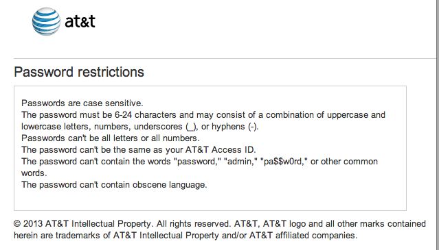 WTF? AT&T's profane-password ban lets some swears through