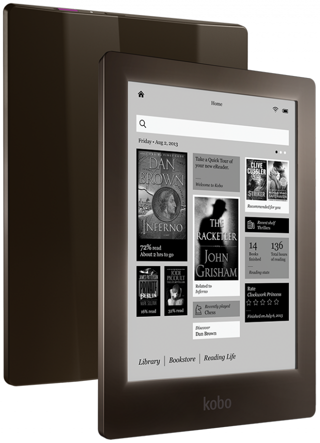 Kobo's limited-edition Aura HD brings the pixel density race to e-readers.