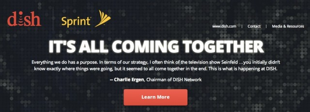 Dish has already created a microsite to pitch its proposal.