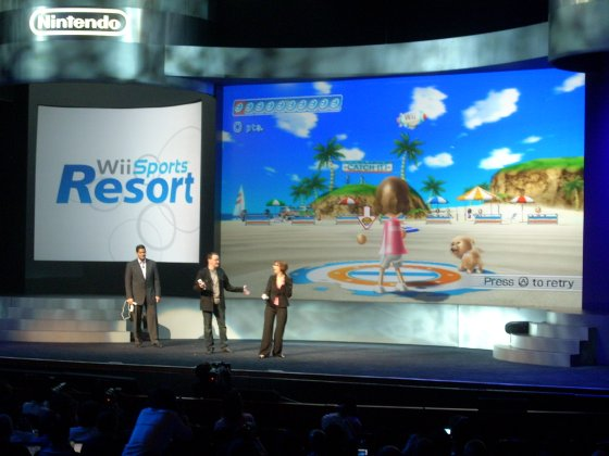 There will be no on-stage antics like this from Nintendo at this year's E3.