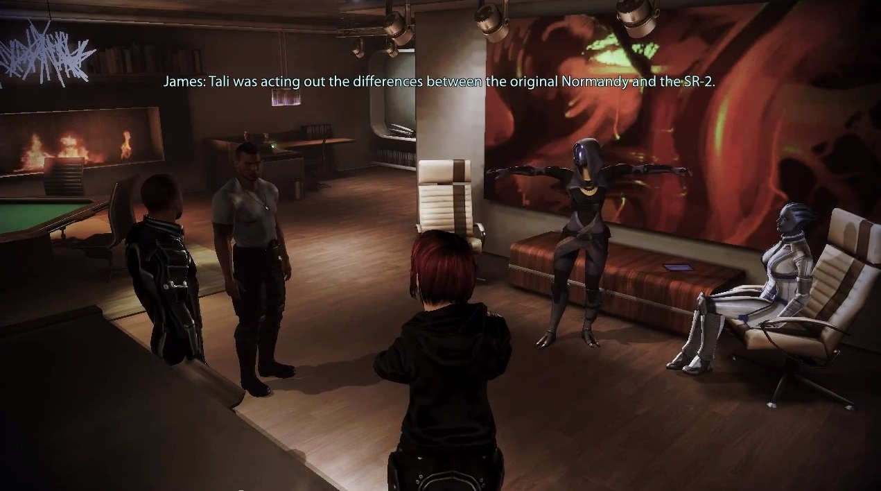 Oh, Tali. Don't ever stop drinking.