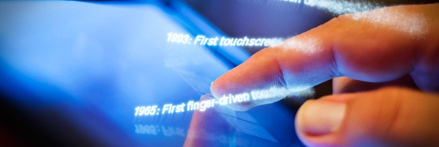 From touch displays to the Surface: A brief history of