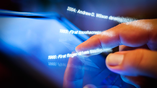 From touch displays to the Surface: A brief history of touchscreen technology | Ars Technica