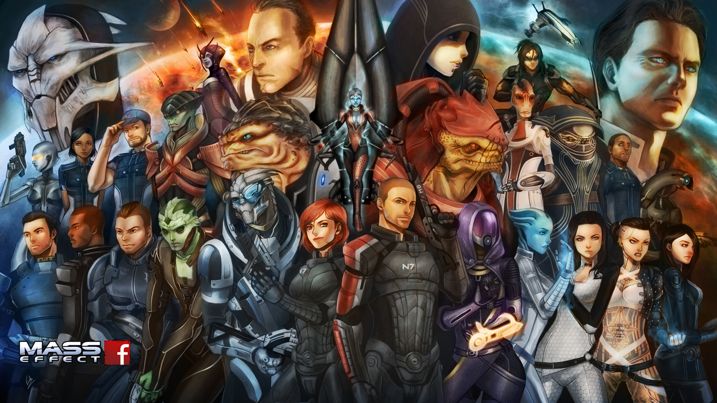 Mass Effect, by DeviantArt user virak.