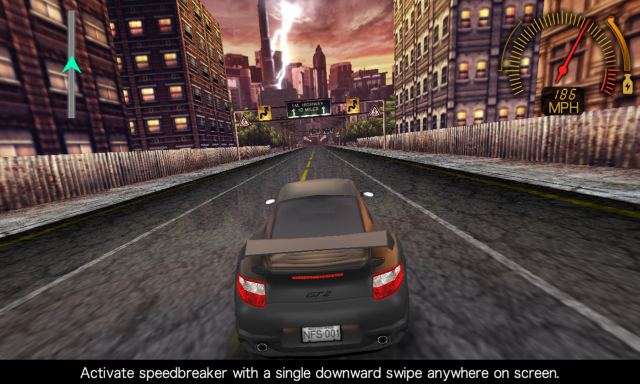 <em>Need for Speed</em> on the more expansive Z10.
