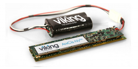 The ArxCis-NV DIMM combines DDR3 dynamic memory with a flash memory backup.