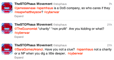 STOPhaus doesn't care much for Spamhaus.