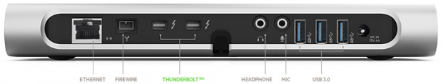 Belkin's Thunderbolt dock turns one port into many.