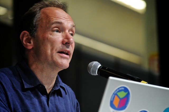 Sir Timothy Berners-Lee, creator of the World Wide Web.