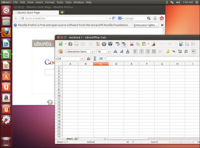 Ubuntu 13.04.