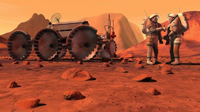 Round trip to Mars would push radiation safety limits ...