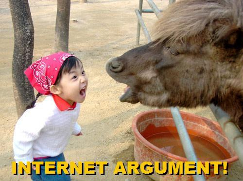 Sorry kid, the donkey has a point.