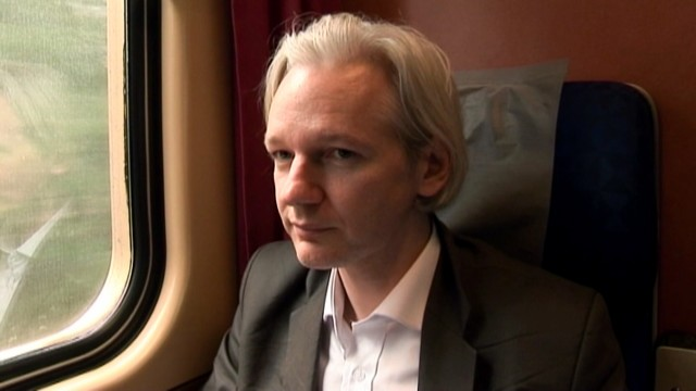 Julian Assange is the man in the middle of Alex Gibney's documentary, <em>We Steal Secrets: The Story of WikiLeaks</em>.