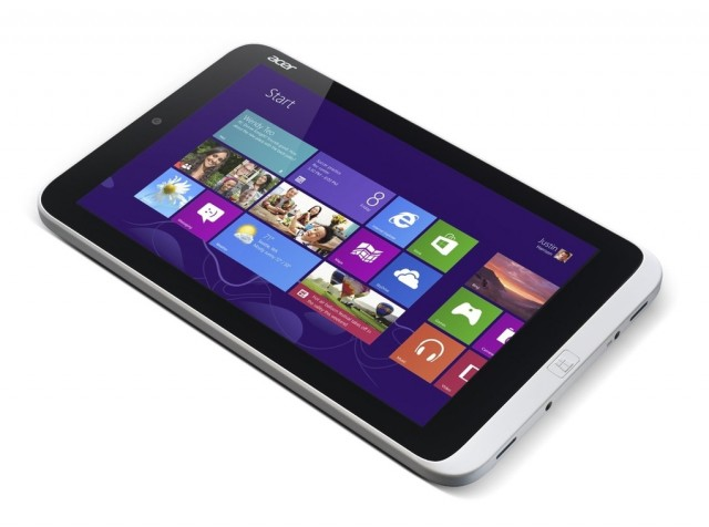 Amazon has spilled the beans on the first small Windows 8 tablet we've seen, Acer's 8.1-inch Aspire W3-810.