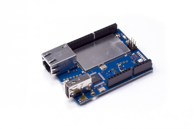 "The Arduino Yún (Yún means ""cloud"" in Chinese.)"