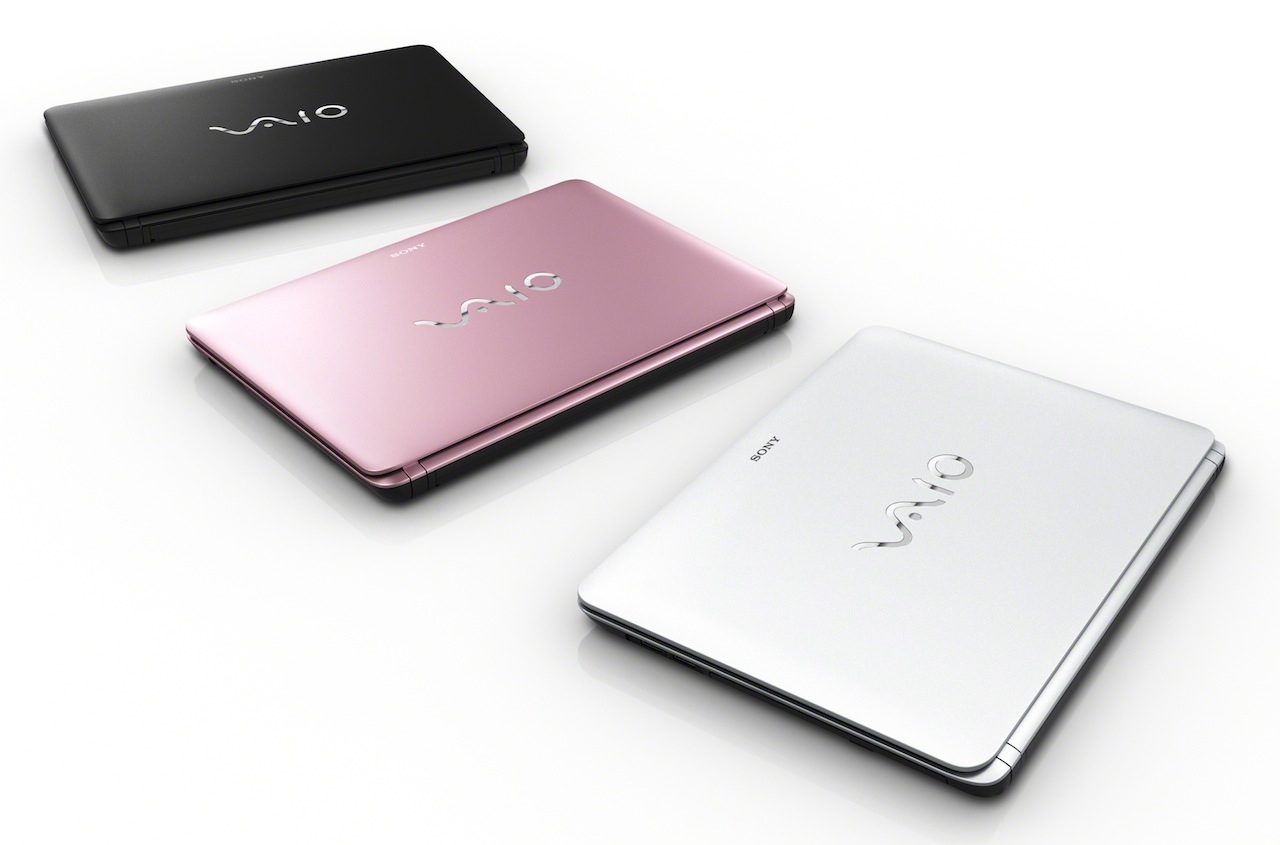 The Fit laptops come in black, pink, or white/silver.