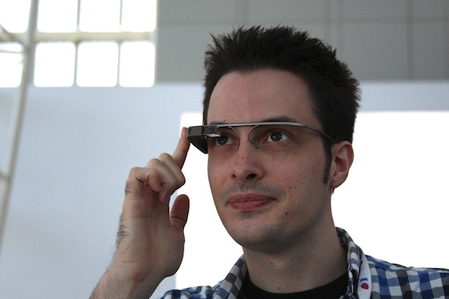 I log some face-on time with Glass at Google I/O.