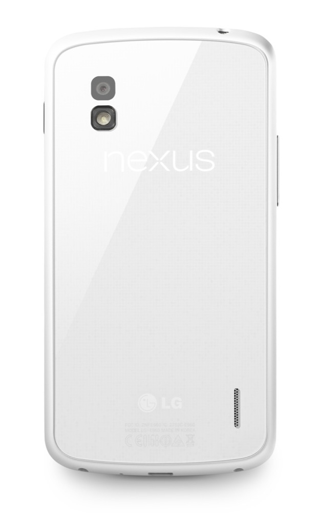 White phone fans rejoice: the Nexus 4 now comes in white.