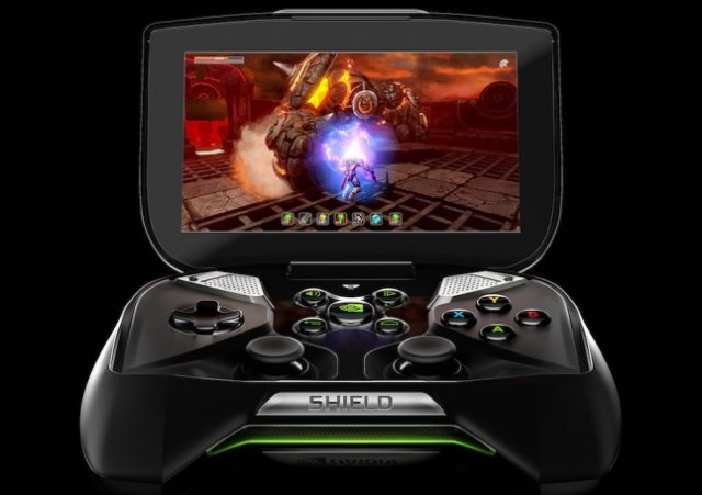 Nvidia's Project Shield has become just-plain-Shield, and it's coming next month.