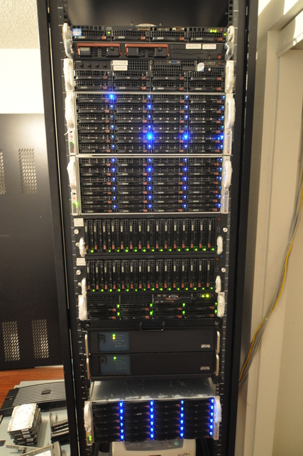 This Verizon FiOS customer's home network generated 77TB of traffic in one month.