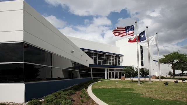 The former Nokia facility outside of Fort Worth where the Moto X will be assembled.