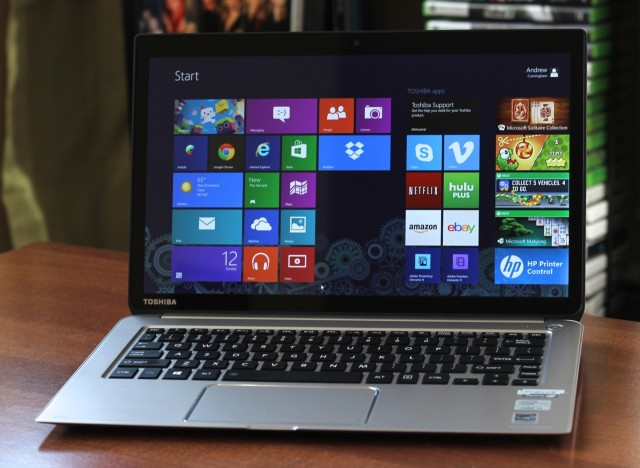Meet Toshiba's Kirabook, a high-res Ultrabook for the Windows world.
