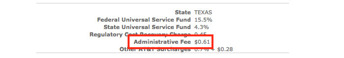 Oh, hello there, new fee.
